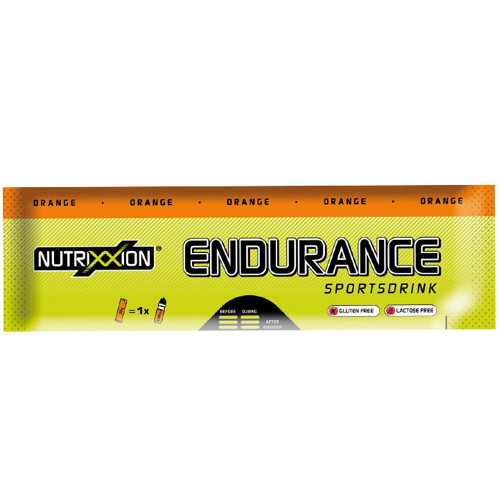 Nutrix Sportgetränk Endurance Pulver Orange - 35g