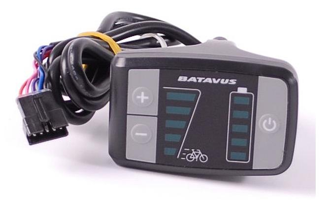 Batavus Entry Level Led Display Schwarz