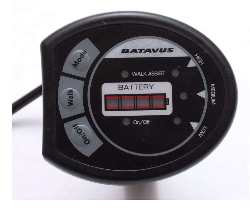 Batavus Protanium Li-Ion Display 3Step Schwarz