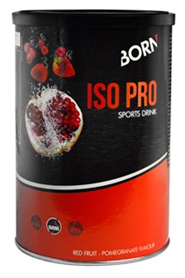 Born Sportdrankpoeder ISO Pro Red Fruit/Pome Granate - 400g