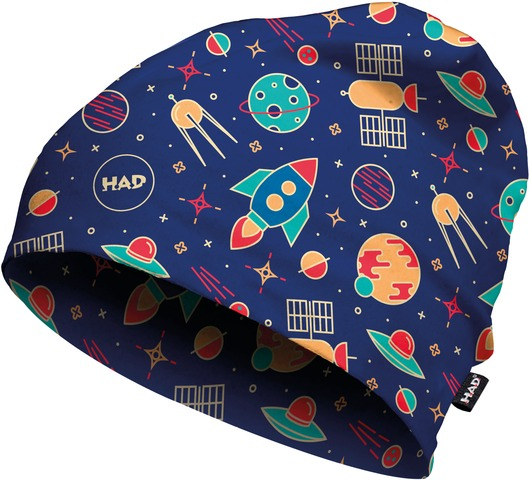 H.A.D. Beanie Printed Fleece Kinder Rocket