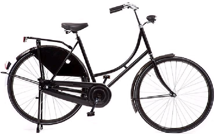 Hollandbikeshop.Com Hollandrad 57 Cm Bremsnabe Schwarz
