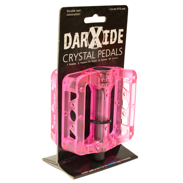 OXC BMX Pedal Crystel Resin - Rosa