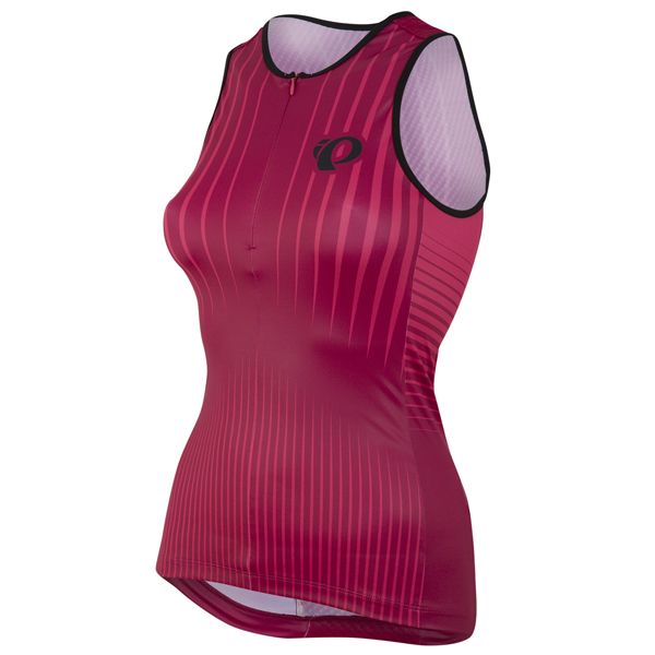 Pearl Izumi Elite In-R-Cool LTD Tri Shirt Damen Rot - S