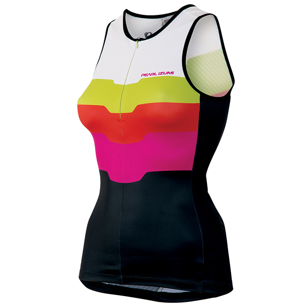 Pearl Izumi Triathlon Top Elite In-R-Cool Ltd Rosa - S