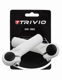 Trivio Bar Ends Basic 95mm - Weiß