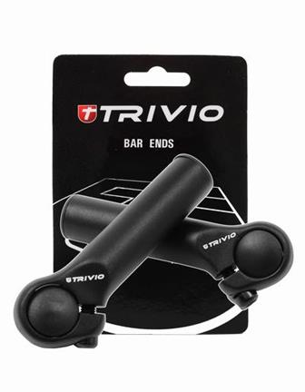 Trivio Bar Ends Basic 95mm - Schwarz