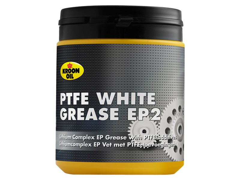 Kroon Oil White Grease mit PTFE (Teflon) Dose 600 Gramm