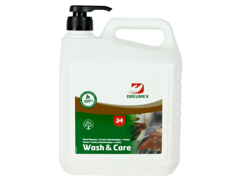 Dreumex Seife Wash And Care 3 L. Pumpflasche