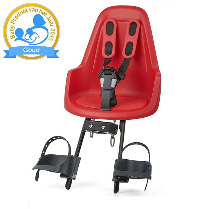 Bobike One Mini Kindersitz Strawberry Rot
