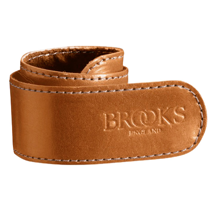 Brooks Hosenklammer Leder Honey