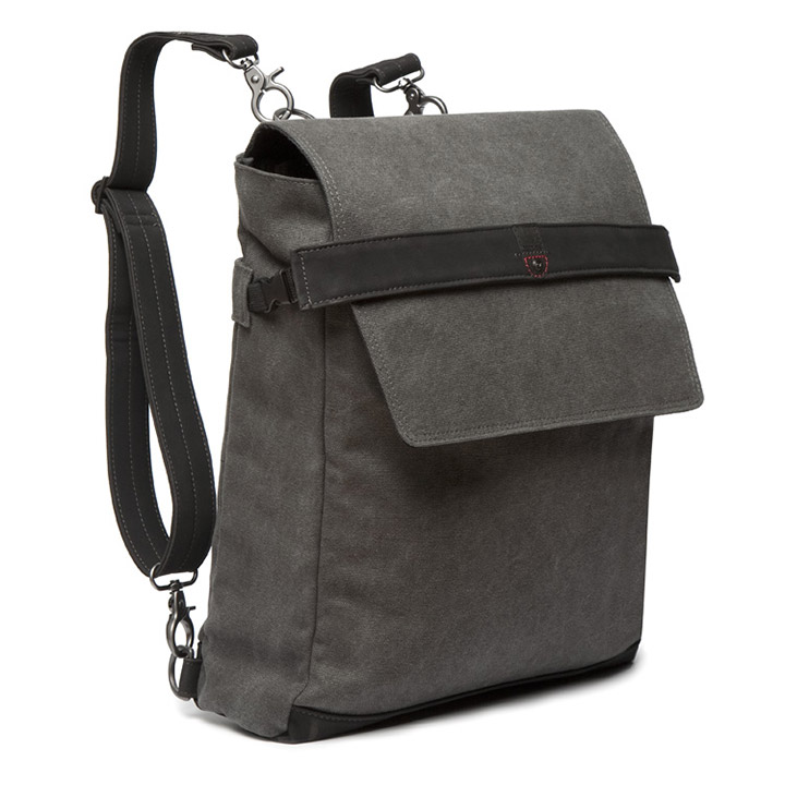 Cortina Messenger Bag Munich Leinen Antra