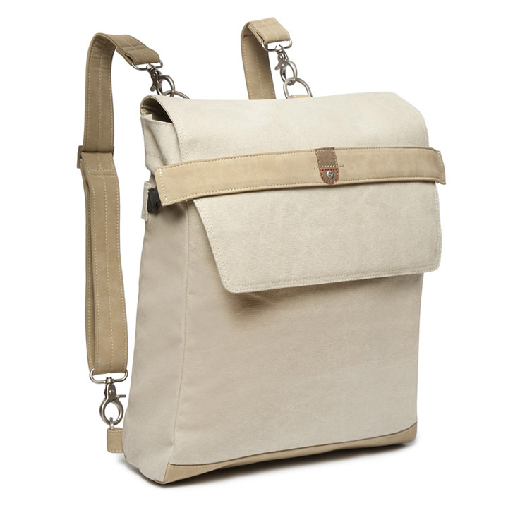 Cortina Messenger Bag Munich Leinen Sand
